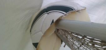 Schutz für Winterplanen am Heckkorb