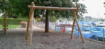 Spielplatz im Hafen Kreuzlingen am Bodensee