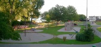 Spielplatz am Hafen in Arbon am Bodensee