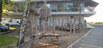 Spielplatz am Hafen im Rheinspitz am Bodensee
