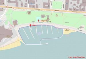 Lageplan Friedrichshafen WYC