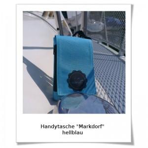 Handytasche Markdorf hellblau