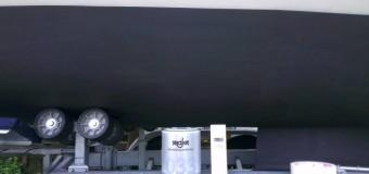 Frühjahrsarbeiten – Antifouling-Anstrich seajet shogun von Yachticon