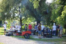 Grillen in Steinach